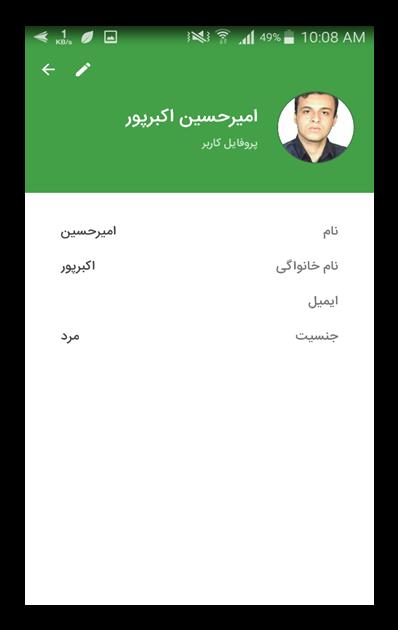 سبزپرداز :: پروفایل کاربر
